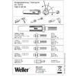 Weller karbantartó készlet
