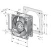 Papst 622/2 H3P ventilátor