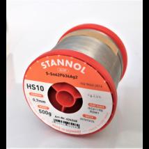 Stannol Sn62 Pb36 Ag2, 0,7mm forrasztó huzal 500g