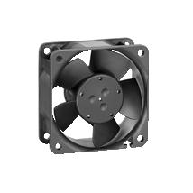 EBMPAPST 612 NMLE 60x60x25 mm DC 12V ventilátor golyóscsapággyal
